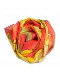 CHINESE DRAGON - Pañuelo de seda pintado a mano - Regalo único