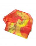 CHINESE DRAGON - Pañuelo de seda pintado a mano - Diseño único
