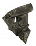 ASIAN STARS - Pañuelo de seda pintado a mano - Diseño único