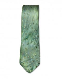 Frog - Corbata de seda natural pintada a mano