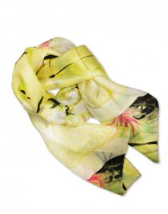 Chinese waves - Pañuelo de seda pintado a mano - VACOMOLASEDA