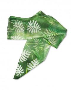 Tropical - Pañuelo de seda pintado a mano - VACOMOLASEDA