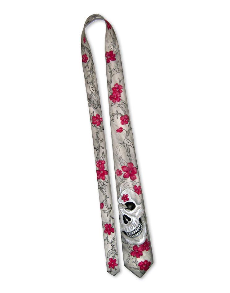 mexican skull corbata y pa uelo de bolsillo de seda pintado a mano. Black Bedroom Furniture Sets. Home Design Ideas