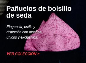 Colección de pañuelos de bolsillo de seda pintados a mano - vacomolaseda
