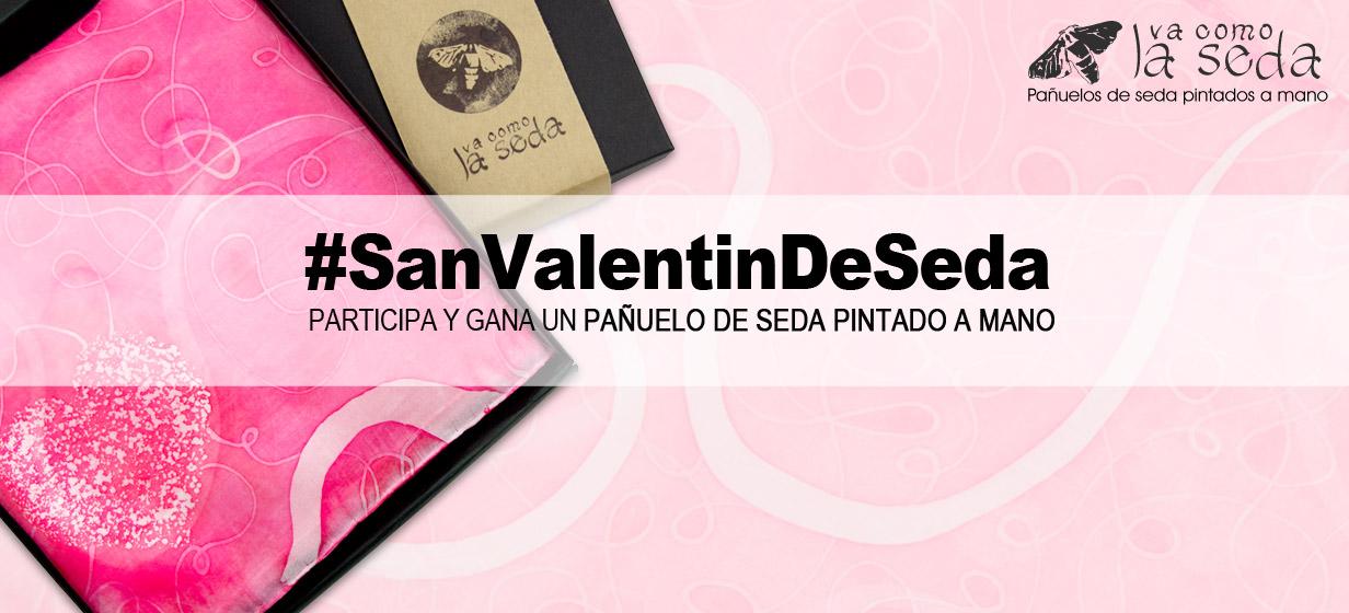 Concurso #SanValentinDeSeda - Vacomolaseda pañuelos de seda pintados a mano